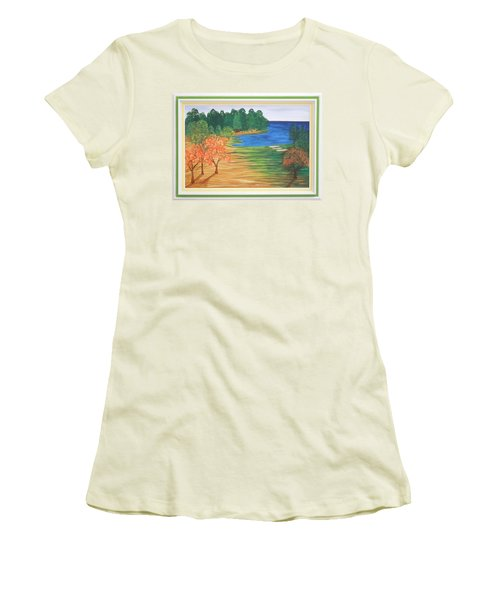 Another Sunday Morning Women's T-Shirt (Junior Cut) by Ron Davidson