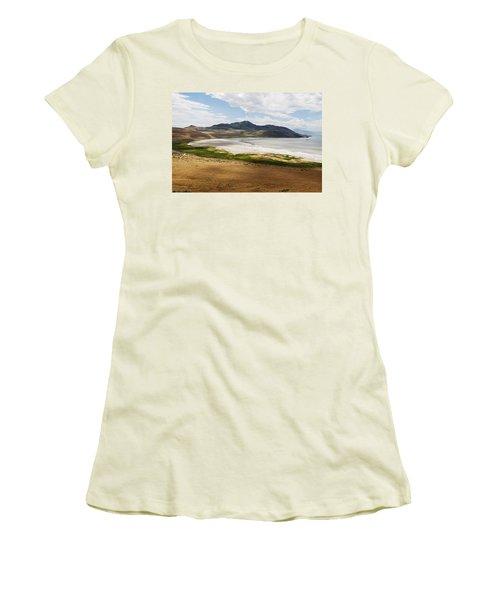 Antelope Island Women's T-Shirt (Junior Cut) by Belinda Greb