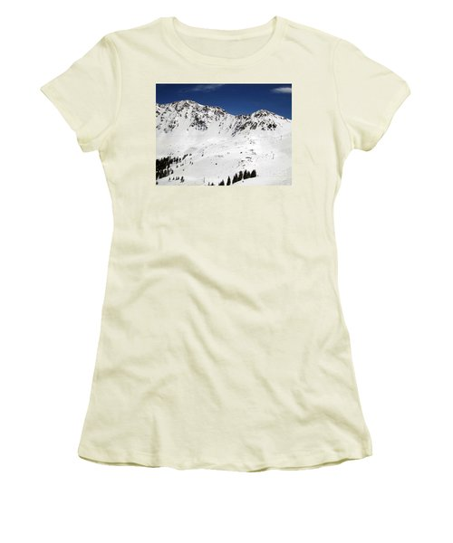 Arapahoe Basin Ski Resort - Colorado          Women's T-Shirt (Athletic Fit)