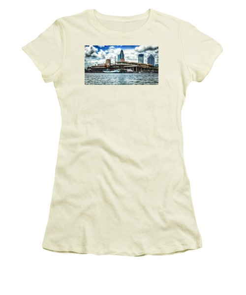Arc Gloria In Port In Hdr Women's T-Shirt (Junior Cut)