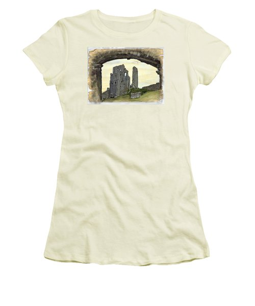 Archway To History Women's T-Shirt (Athletic Fit)