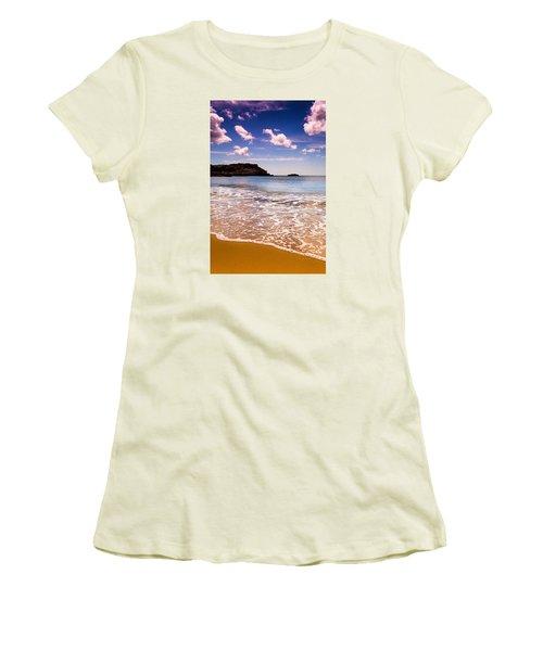 Women's T-Shirt (Junior Cut) featuring the photograph Around The Sea by Edgar Laureano