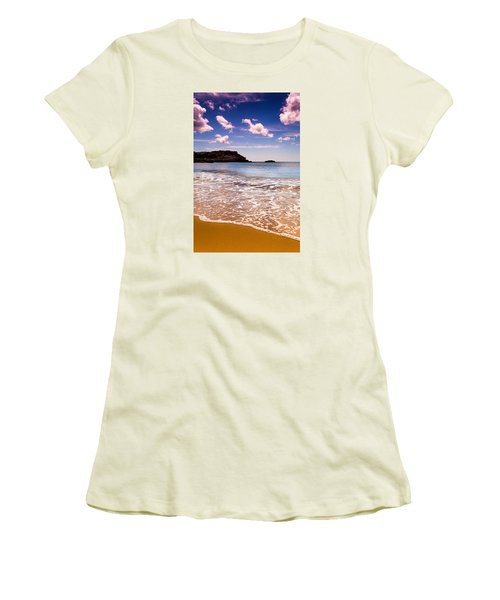 Around The Sea Women's T-Shirt (Athletic Fit)