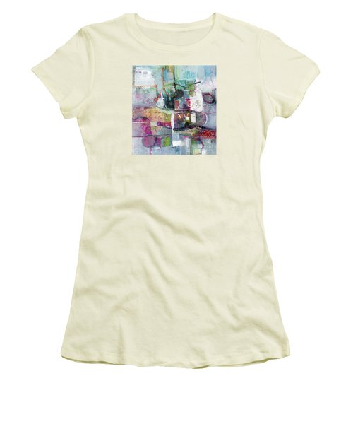Art And Music Women's T-Shirt (Junior Cut) by Michelle Abrams