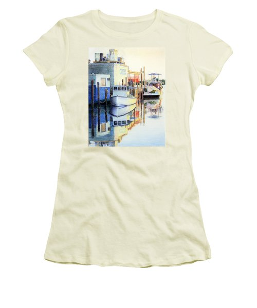 At Cortez Docks Women's T-Shirt (Athletic Fit)