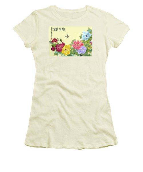 Auspicious Spring Women's T-Shirt (Athletic Fit)