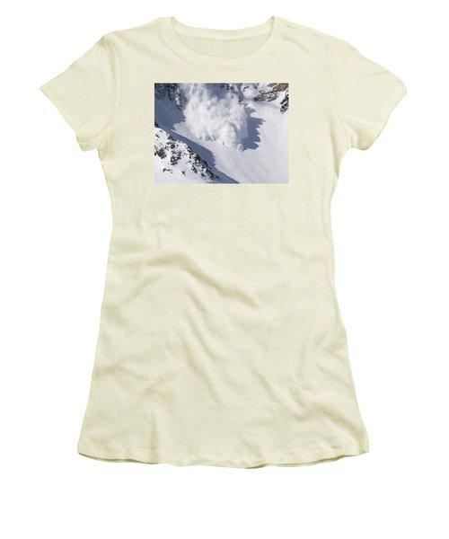 Avalanche IIi Women's T-Shirt (Junior Cut) by Bill Gallagher