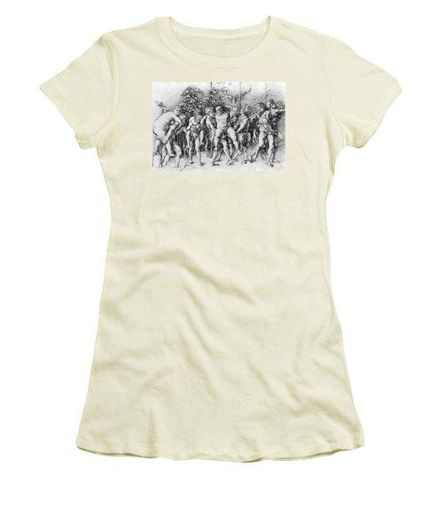 Bacchanal With Silenus - Albrecht Durer Women's T-Shirt (Athletic Fit)