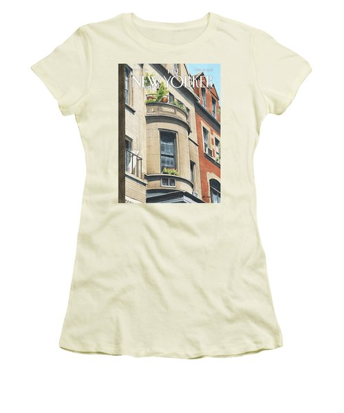 Balcony Scene Women's T-Shirt (Athletic Fit)