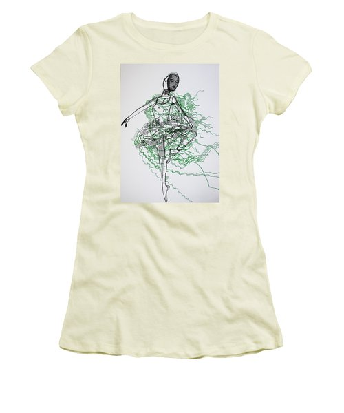 Ballet Women's T-Shirt (Athletic Fit)