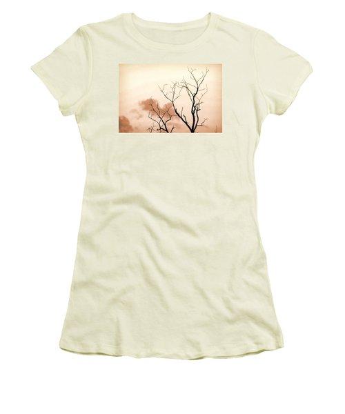 Bare Limbs Women's T-Shirt (Junior Cut) by Denise Romano
