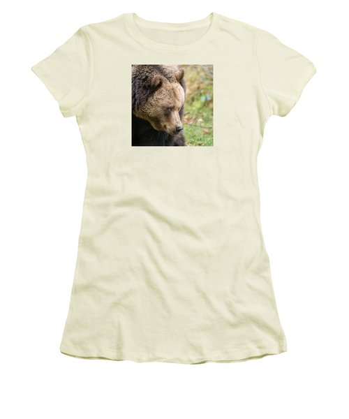 Bear's Profile Women's T-Shirt (Athletic Fit)