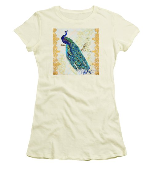 Beautiful Peacock-b Women's T-Shirt (Junior Cut)