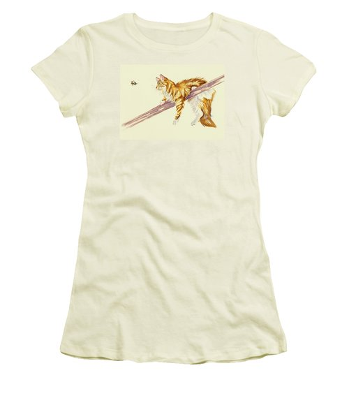 Bee Determined Women's T-Shirt (Athletic Fit)