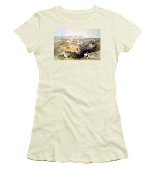 Bethlehem  Women's T-Shirt (Athletic Fit)