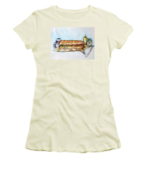 Big Ol Samich Women's T-Shirt (Athletic Fit)