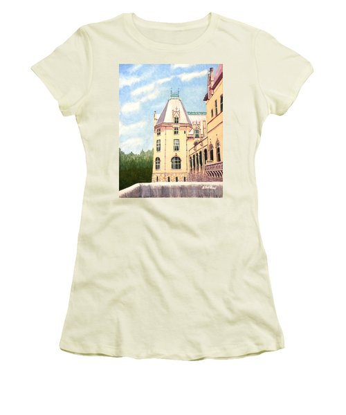 Biltmore Balcony Women's T-Shirt (Athletic Fit)