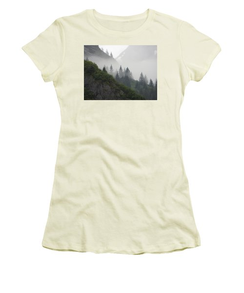 Blanket Of Fog Women's T-Shirt (Athletic Fit)