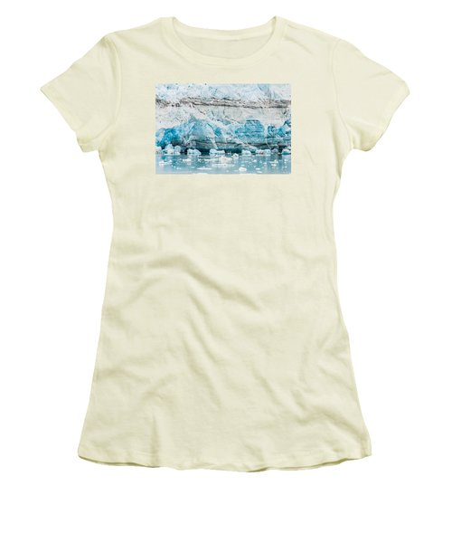 Blue Ice Women's T-Shirt (Athletic Fit)