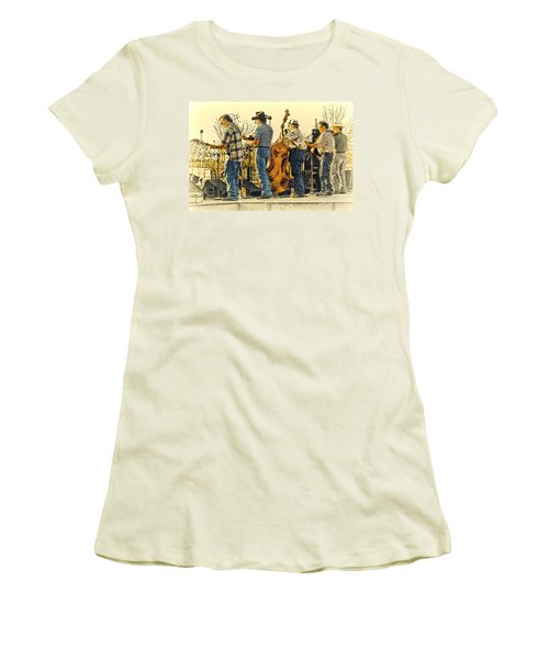 Bluegrass Evening Women's T-Shirt (Junior Cut) by Robert Frederick