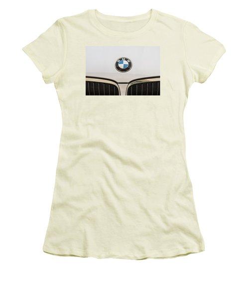 Bmw Emblem Women's T-Shirt (Athletic Fit)