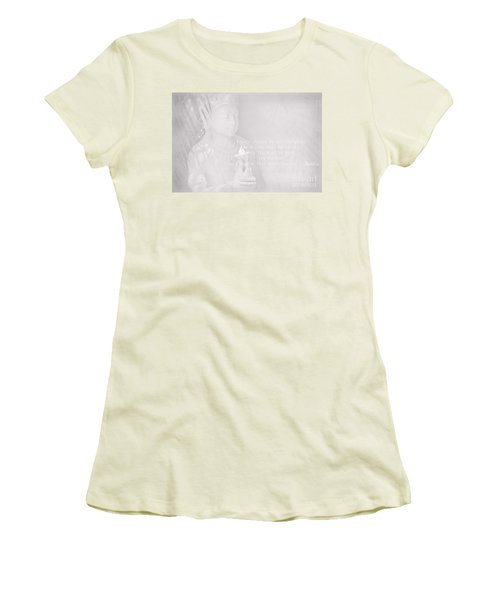 Bodhisattva Women's T-Shirt (Junior Cut) by Sharon Mau