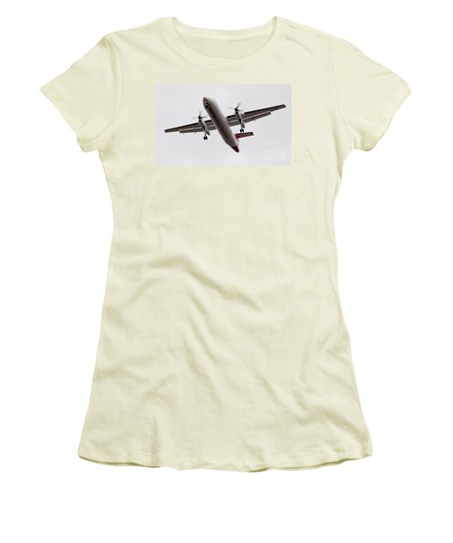 Bombardier Dhc 8 Women's T-Shirt (Athletic Fit)