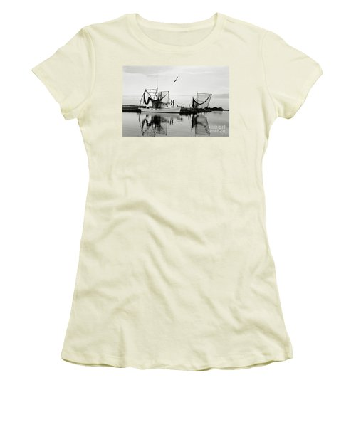 Bon Temps Women's T-Shirt (Junior Cut) by Scott Pellegrin