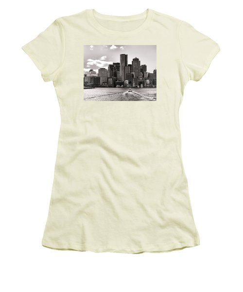 Boston Women's T-Shirt (Athletic Fit)