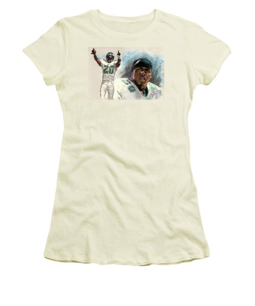 Brian Dawkins Women's T-Shirt (Athletic Fit)