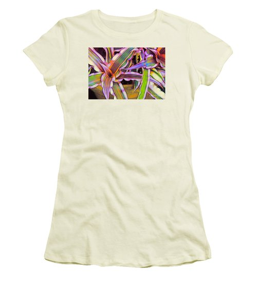 Bromeliads Women's T-Shirt (Athletic Fit)