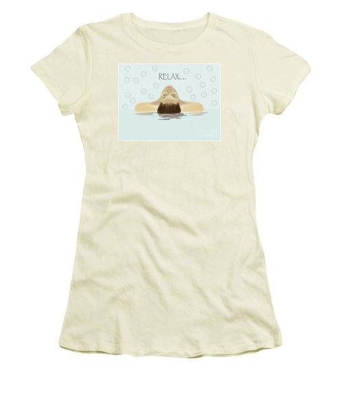 Bubble Bath Luxury Women's T-Shirt (Athletic Fit)