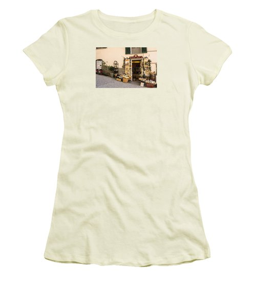 Burasca Shop Of Manarola Women's T-Shirt (Athletic Fit)