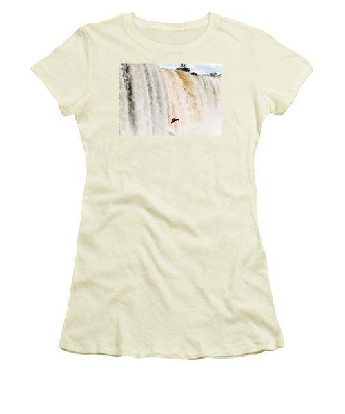 Butterfly Women's T-Shirt (Junior Cut) by Silvia Bruno