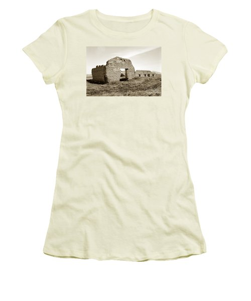 Soledad  California Mission  Monterey Co. Circa 1900 Women's T-Shirt (Athletic Fit)