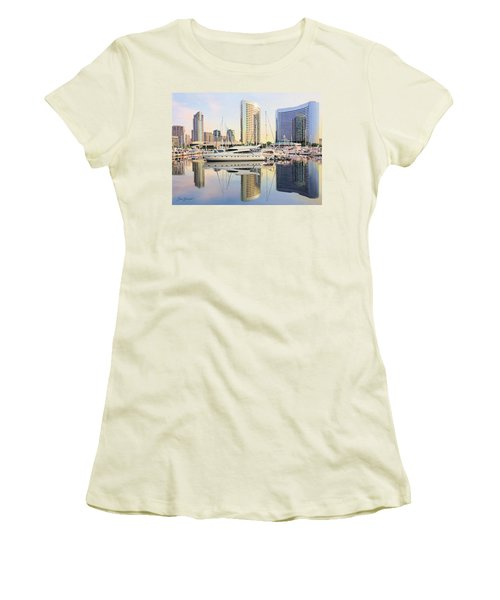 Calm Summer Morning Women's T-Shirt (Athletic Fit)