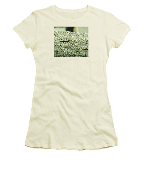 Arizona Camo Bird Women's T-Shirt (Junior Cut) by Belinda Lee