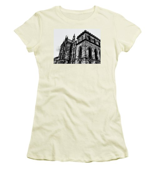 Women's T-Shirt (Junior Cut) featuring the photograph Can You Hear Me by Doc Braham