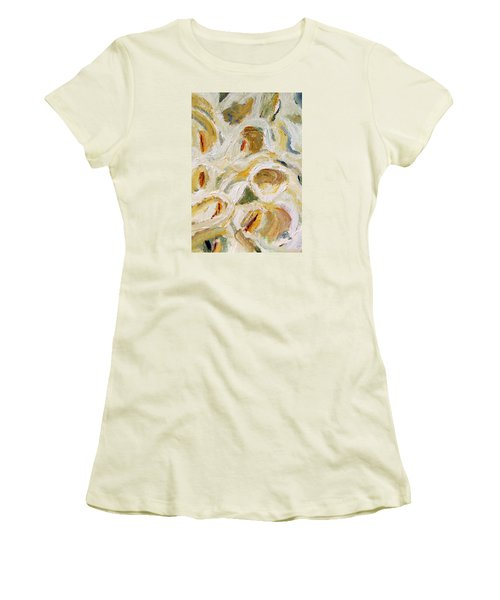 Cascade Of Calla Lillies Women's T-Shirt (Athletic Fit)