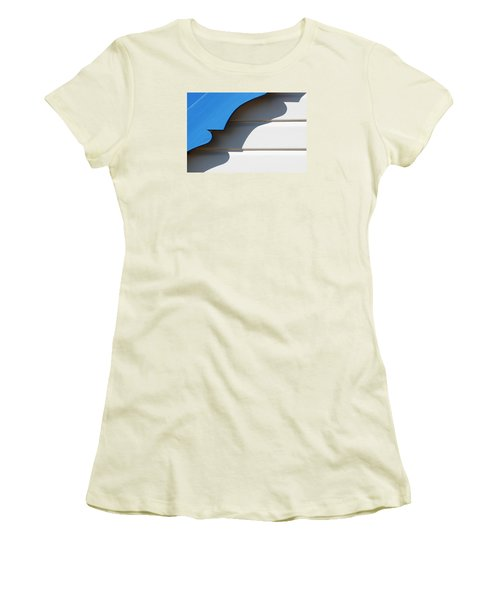 Casting A Shadow Women's T-Shirt (Athletic Fit)