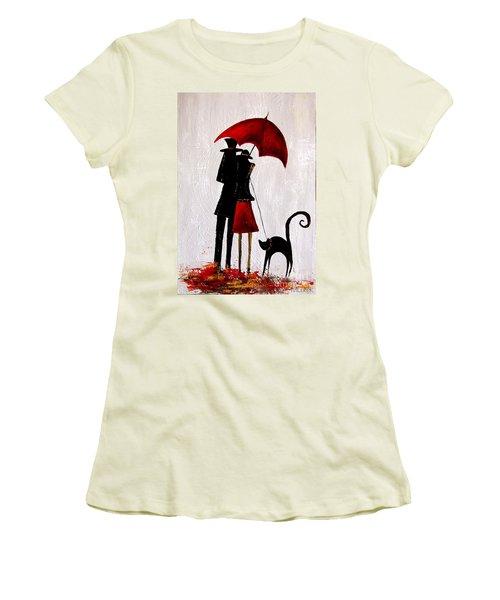 Cat 726 Women's T-Shirt (Athletic Fit)