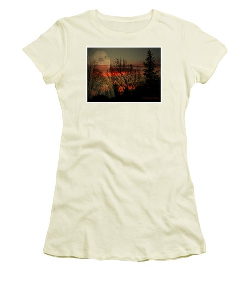 Women's T-Shirt (Junior Cut) featuring the photograph Celebrate Life by Joyce Dickens