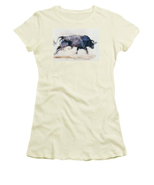 Charging Bull Women's T-Shirt (Athletic Fit)