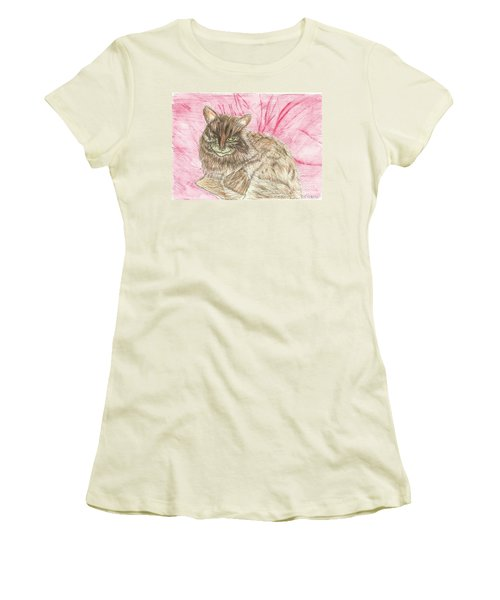 Charlie Women's T-Shirt (Junior Cut) by Tracey Williams