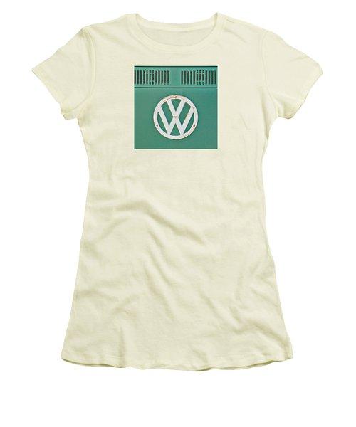 Classic Car 8 Women's T-Shirt (Junior Cut) by Art Block Collections