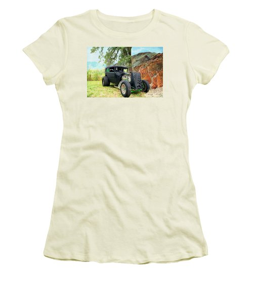 Women's T-Shirt (Junior Cut) featuring the photograph Classic Rod by Liane Wright