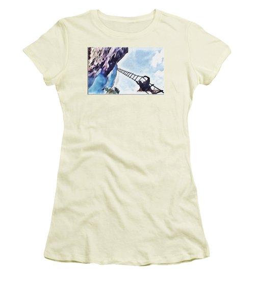 Climb Women's T-Shirt (Athletic Fit)