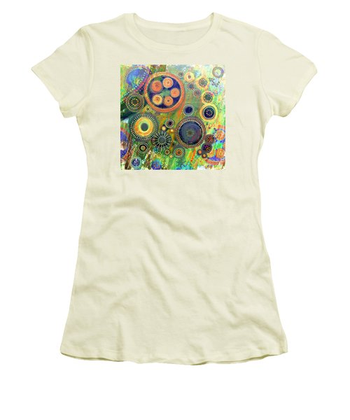 Clockwork Garden Women's T-Shirt (Athletic Fit)