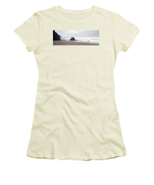 Coast La Push Olympic National Park Wa Women's T-Shirt (Athletic Fit)