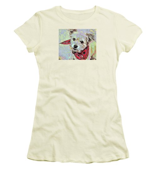 Cocoa On The Poster Women's T-Shirt (Junior Cut) by Vickie G Buccini
